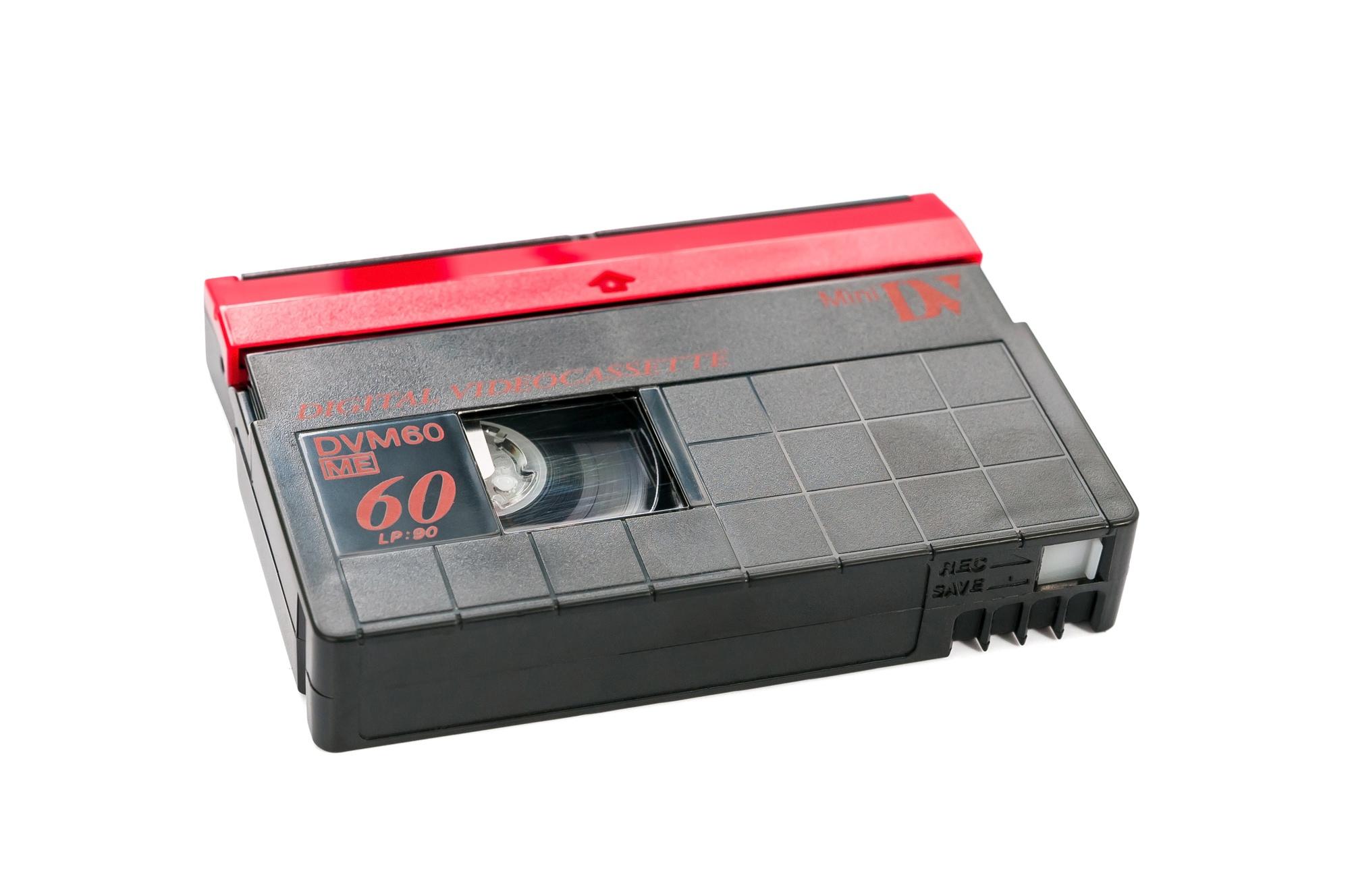 QDdesign - Cassette MiniDV